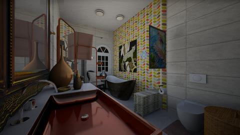 Badkamer 1 - Bathroom  - by Dijkje