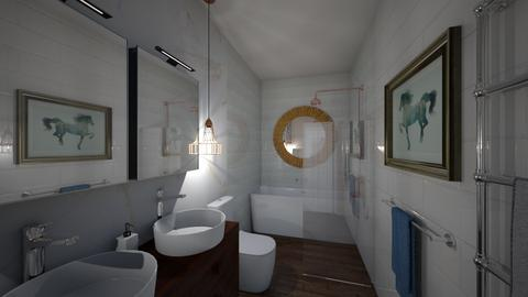 ground floor bathroom - Eclectic - Bathroom  - by Frosska