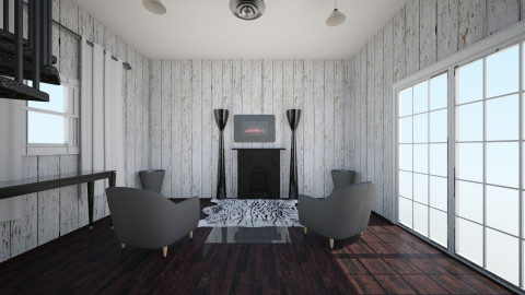 modern winter wonderland  - Classic - Living room  - by noelani200