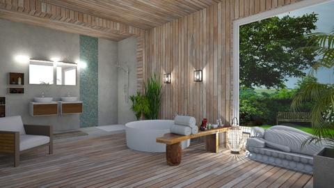 Zen - Bathroom - by Val Val