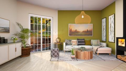 Contest - Country - Living room  - by Feeny