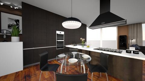 modern kitchen - Kitchen - by anilo