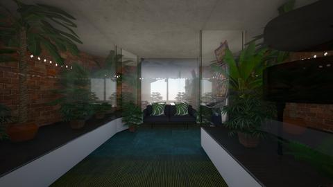 Plant snug - Living room  - by riordan simpson