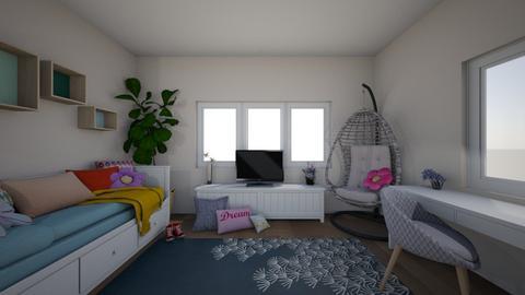 dream bedroom - by viktor peltekov
