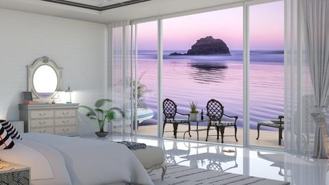 summer beach bed - by nat mi