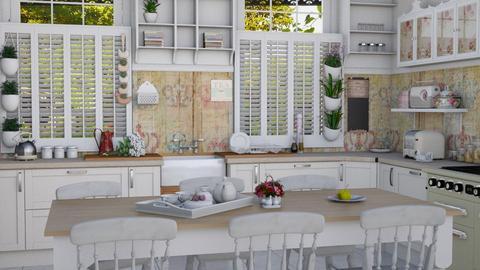 kitchen shabby - Vintage - Kitchen - by donella