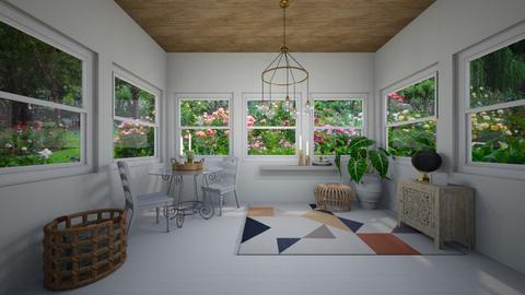 Sunroom  - Living room  - by Lexidesign