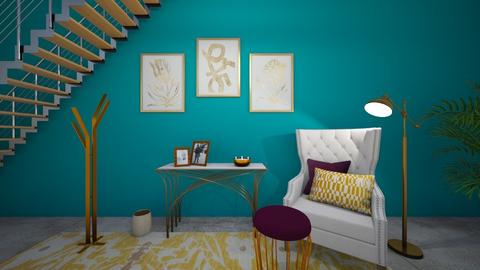 Turquoise Hallway  - by jennasnavely98