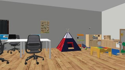 ShoeBox Classroom  - Office  - by mnipper2260