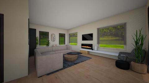 Woonkamer 2 - Modern - Living room  - by LidaSoer
