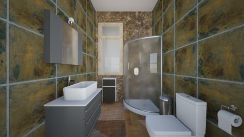 baño (planta 1) de esta - Minimal - Bathroom  - by ZARIGUEYA