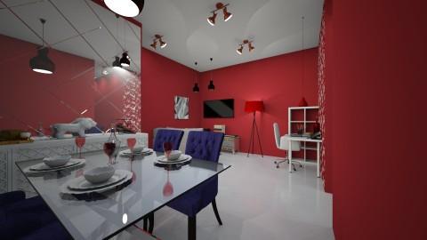 apartamento classe media  - Minimal - Living room  - by kelly lucena