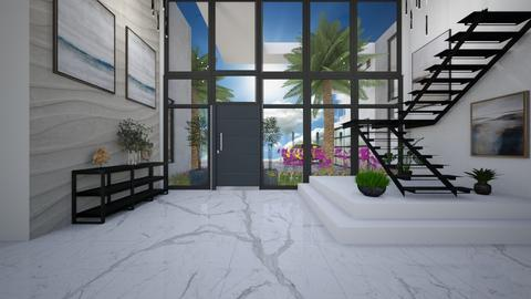 Sunny Florida - Living room  - by flacazarataca_1