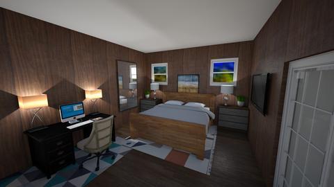 College Bedroom - Bedroom  - by Unicorn43794