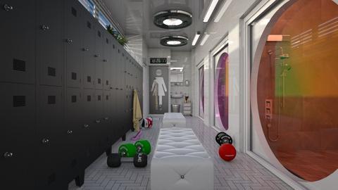 changing room  - by Ida Dzanovic