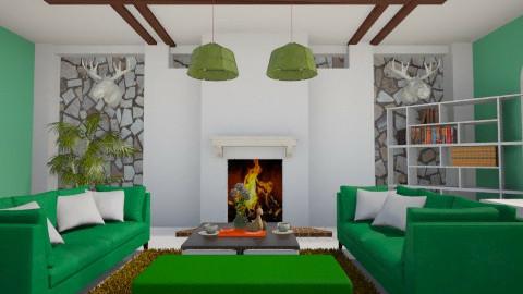 Mini Living Room  - Modern - by Chelsea Avelino