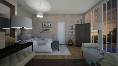 Urrutia inspiration - Eclectic - Bedroom  - by Lucii