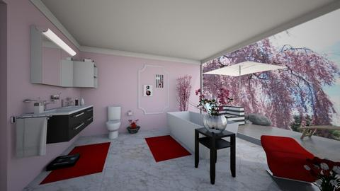 Cherry Bathroom - Bathroom - by Sophia Cooper