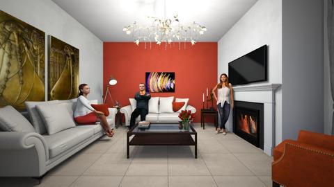 elsalr02 - Living room  - by vottimaria