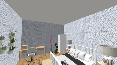 Maths - Modern - Bedroom  - by isabelle_8888