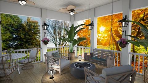 Summer Porch - by kyrabaldwin