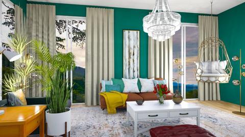 Bright Living Room - Living room  - by Feeny