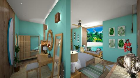 Beach Bedroom - Bedroom - by Cataresteves