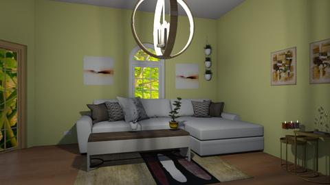 Green living - Eclectic - Living room - by Horchata_