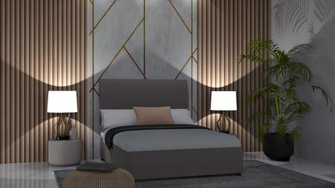 Wall panelling - Modern - Bedroom - by jwaherqaseem
