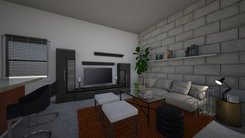 T - Living room - by creativegirl14