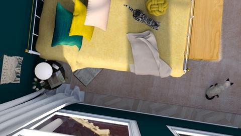 Rosies Cats - Modern - Bedroom  - by HenkRetro1960