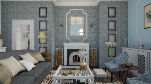 Salotto - Classic - Living room  - by giulygi
