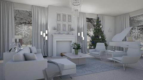 White Christmas - Living room - by ATOMIUM