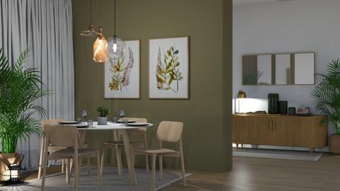 Naturals - Dining room  - by KittyKat28
