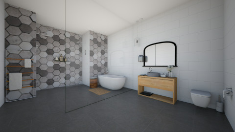 Minimal Bathroom - Minimal - Bathroom  - by kennyhollis99