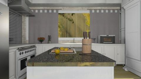 My Kitchen  - Modern - Kitchen - by deleted_1513655778_Valencey14