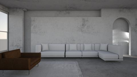 stone - Living room  - by Elliott Ray