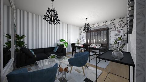 Flat 24 Living Room - Classic - Living room  - by LuzMa HL