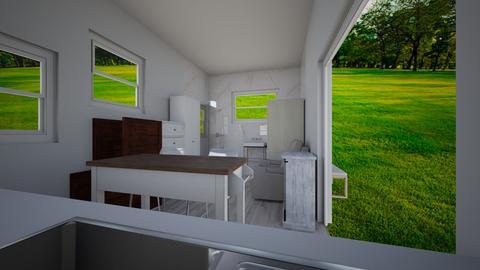 Tiny house pool house 7 - Kitchen  - by joannaowen