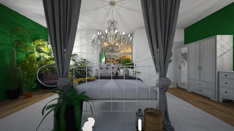 bedroom oasis - Minimal - Bedroom  - by ash04