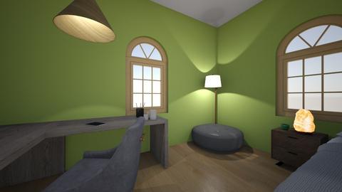 MY ROOM - Bedroom  - by IOMICHELANGELO