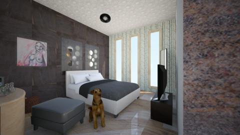 recamara  - Minimal - Bedroom - by ZARIGUEYA
