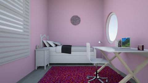 girl room - Bedroom  - by aymenousser