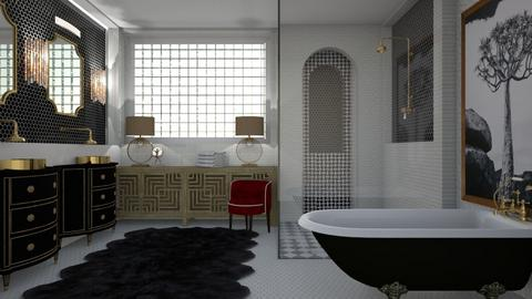 Art Deco Bathroom - Bathroom  - by jjp513