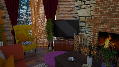 kotage living room tv - by Moriia