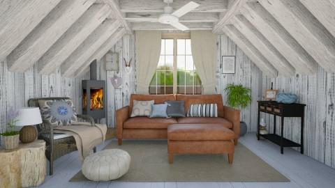 Valdosta - Country - Living room  - by Daisy de Arias