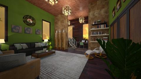 greenroom - Retro - Living room  - by kla