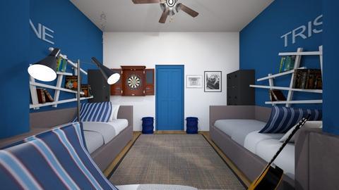Room For Three 2 - Bedroom  - by SammyJPili