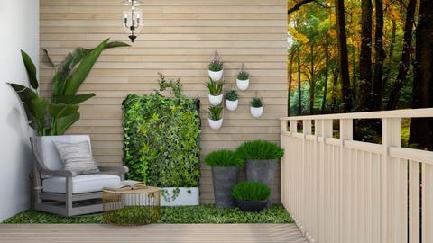 Small Balcony - Garden  - by Feeny