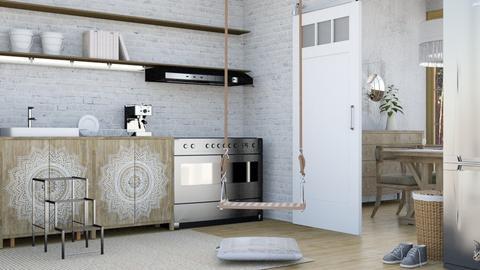 Scandilous - Kitchen  - by Saoirsae